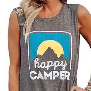 Tops - Happy Camper Tank Top